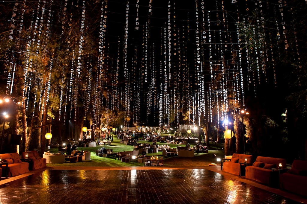 A Beautiful Outdoor Party With Exquisite Events Revelry