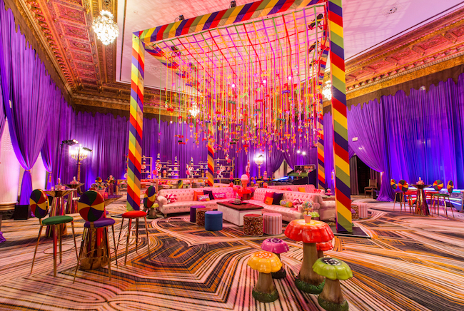 Candyland Themed Hospitality Suite In San Francisco