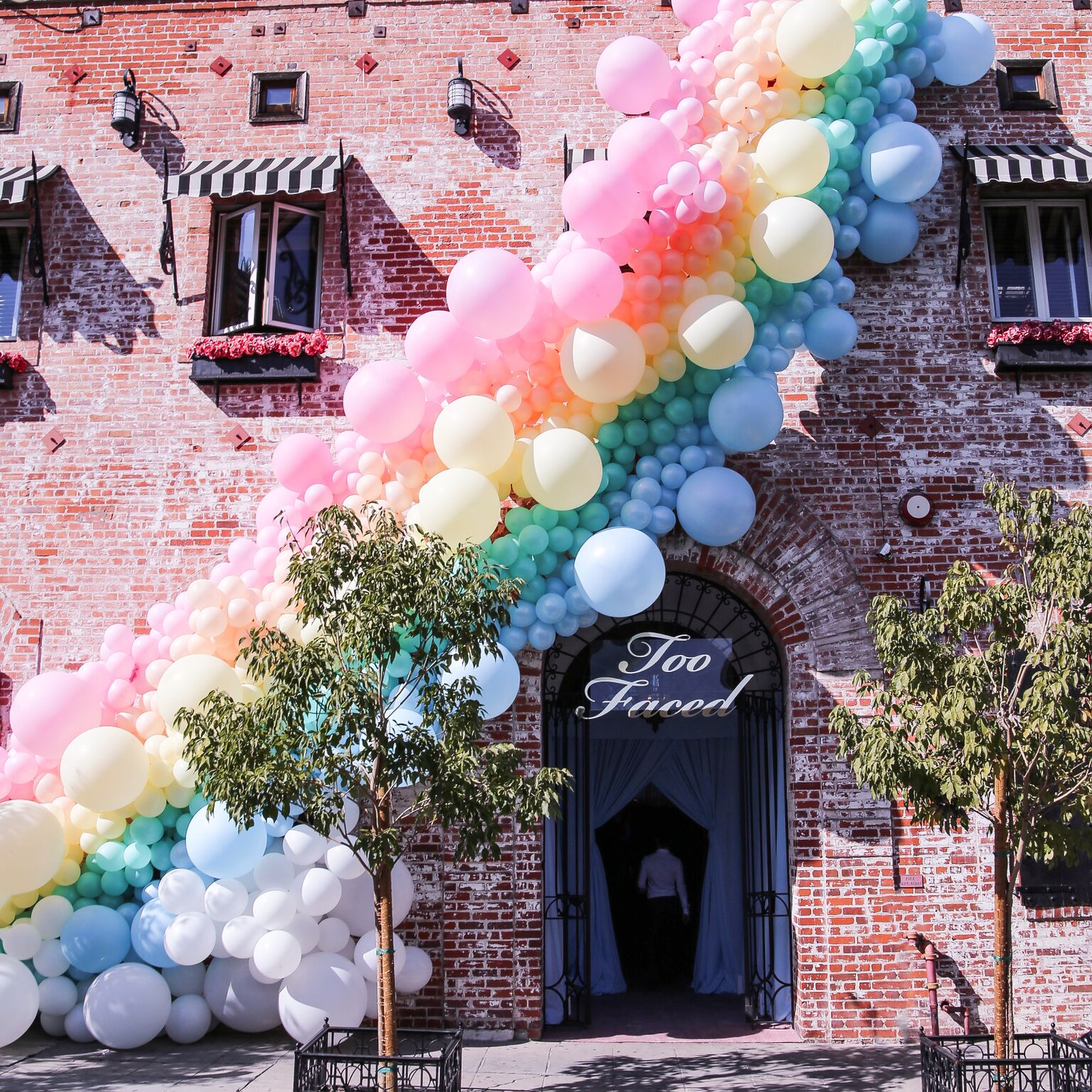 too faced, carondelet house, revelry event designers, mindy weiss