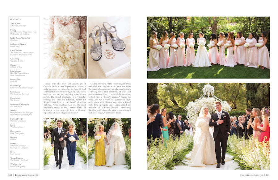 beverly hills wedding, revelry event designers