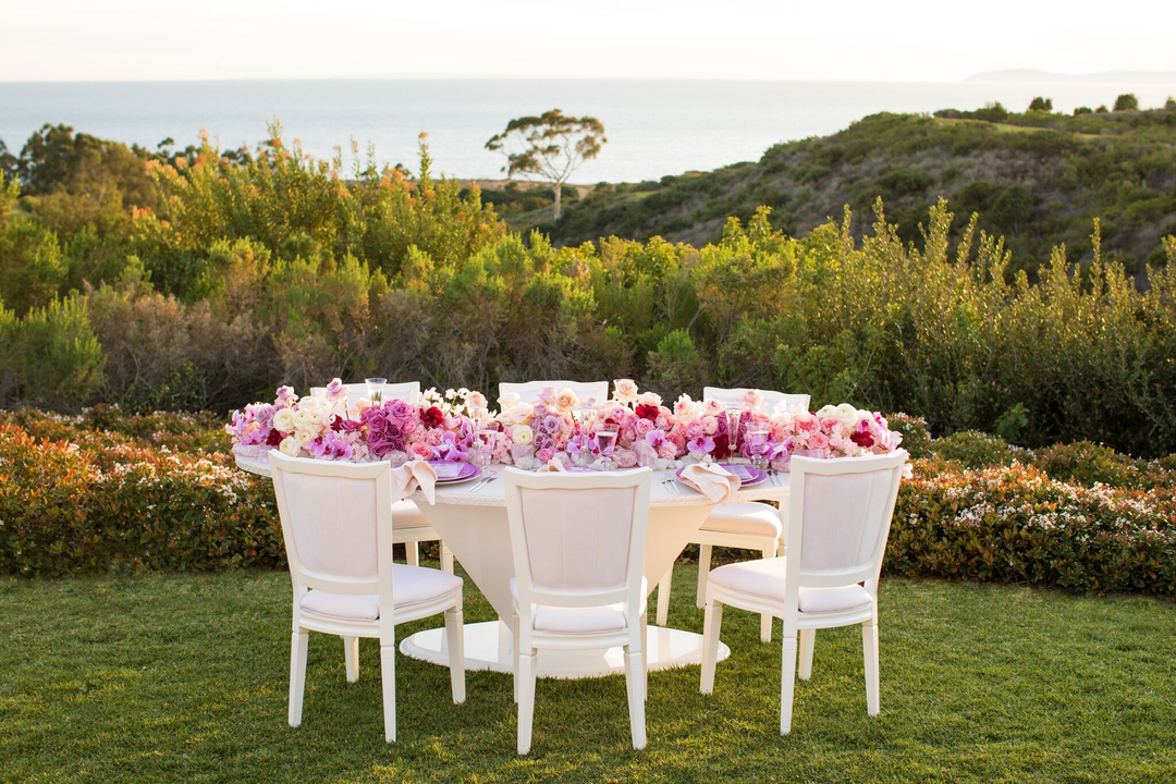 revelry event designers, the resort at pelican hill, sonia sharma, bloom box designs