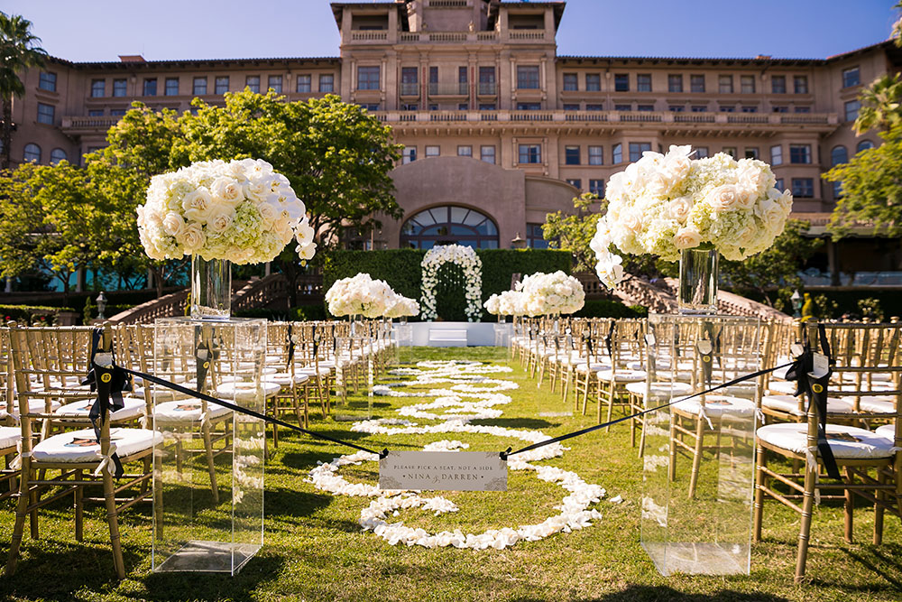 Langham Huntington, Wedding, Ceremony Magazine, Revelry Event Designers