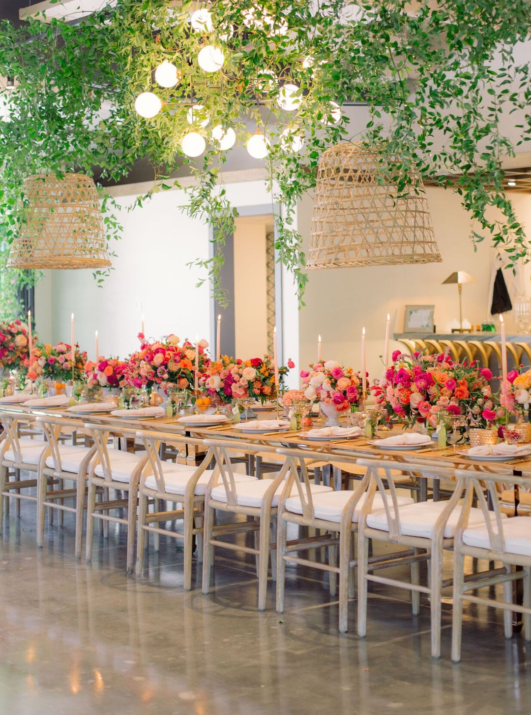 Colorful Garden Inspired Bridal Shower at Casita Hollywood