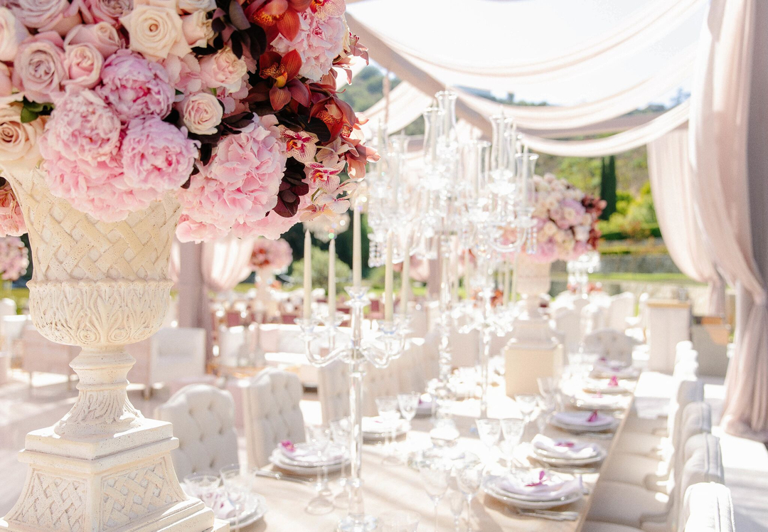 revelry event designers, beverly hills, outdoor wedding reception
