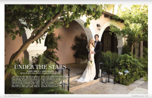 Tuscan Inspired Wedding Featured in Inside Weddings