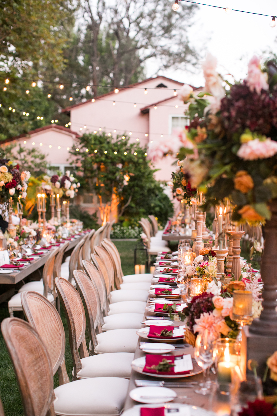 Tuscan Inspired Los Angeles Wedding