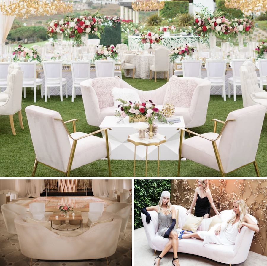 Revelry Event Designers Furniture Featured in Inside Weddings