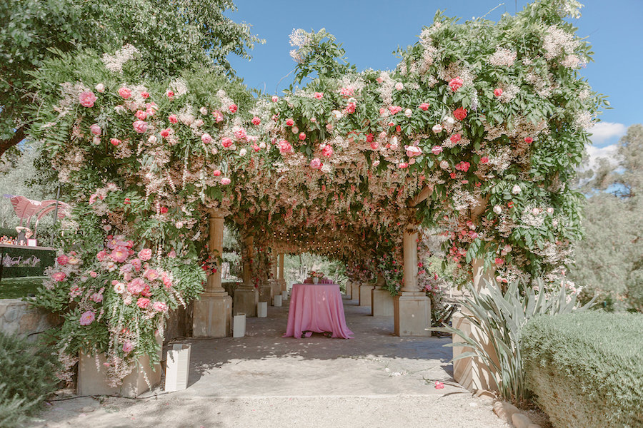 Chic Ojai Valley Inn Wedding Featured on WedLuxe