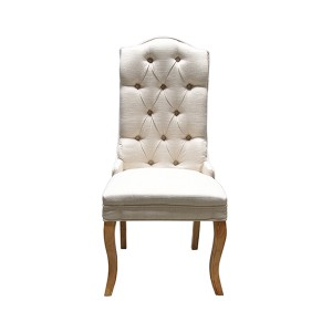 Paris Cream Medium Back Dining Chair