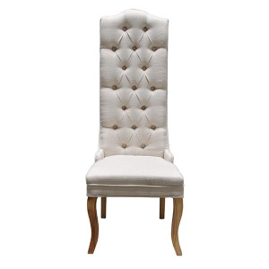 Paris Cream Tall Back Dining Chair