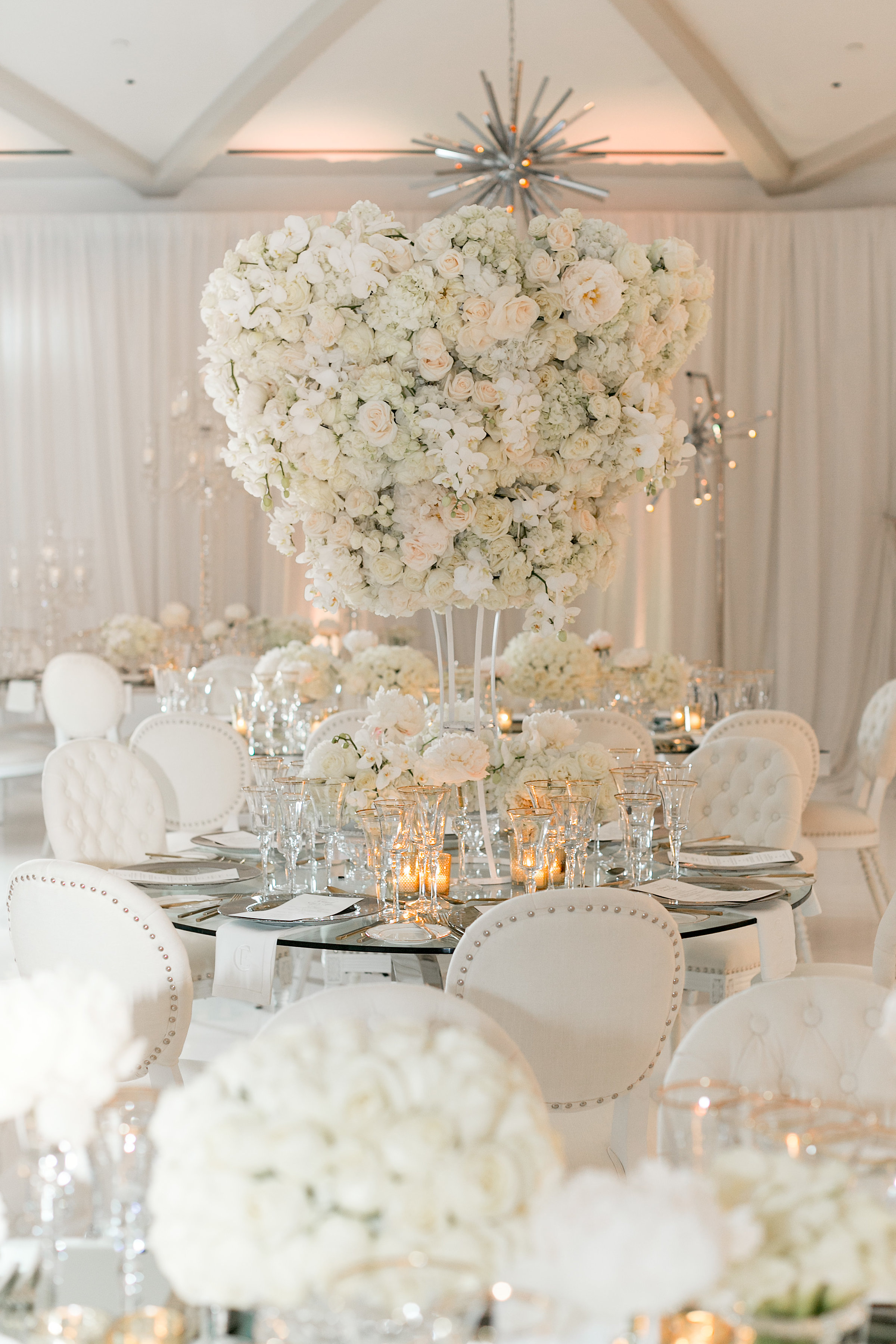 Magical White Reception For Revelry Event Designers Ceo