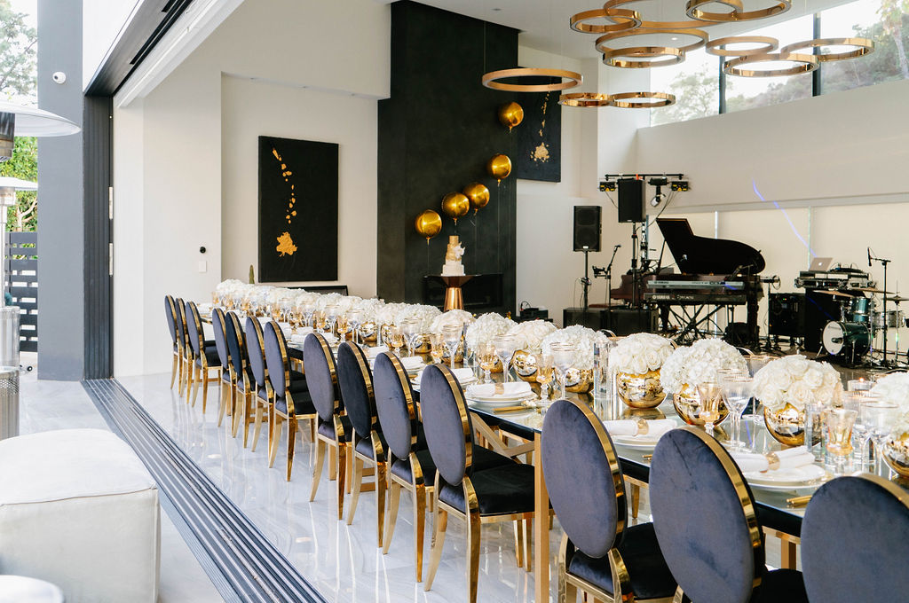 Sophisticated Sleek Birthday Party Revelry Event